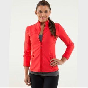 Lululemon Forme Jacket in Love Red